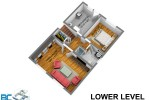 lower-level-dim at 4482 Ruskin Place, Forest Hills NV, North Vancouver